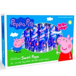 Peppa Pig Swirl lollies lollipop 20 Sucker Candy